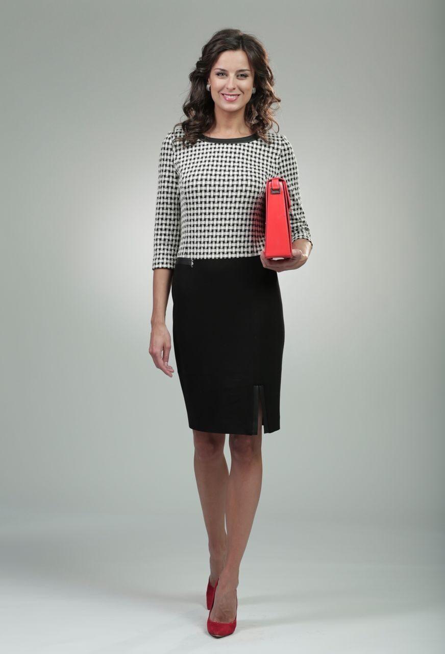 Стильные платья для офиса фото